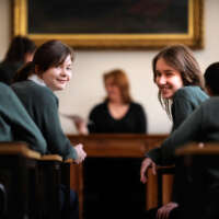 Fave Two girls at Cheltenham Ladies 2020 05 13