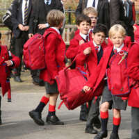 Fave Young students arrive at Kings Wimbledon 2020 05 13