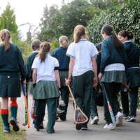 Fave Cheltenham girls walking to lacrosse practise 2 2020 05 14